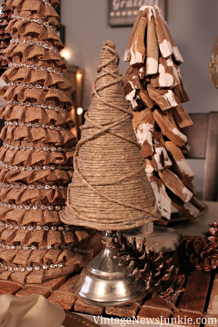 Top Rustic DIY Burlap Projects For Christmas Top Inspired - Diy burlap christmas decorations