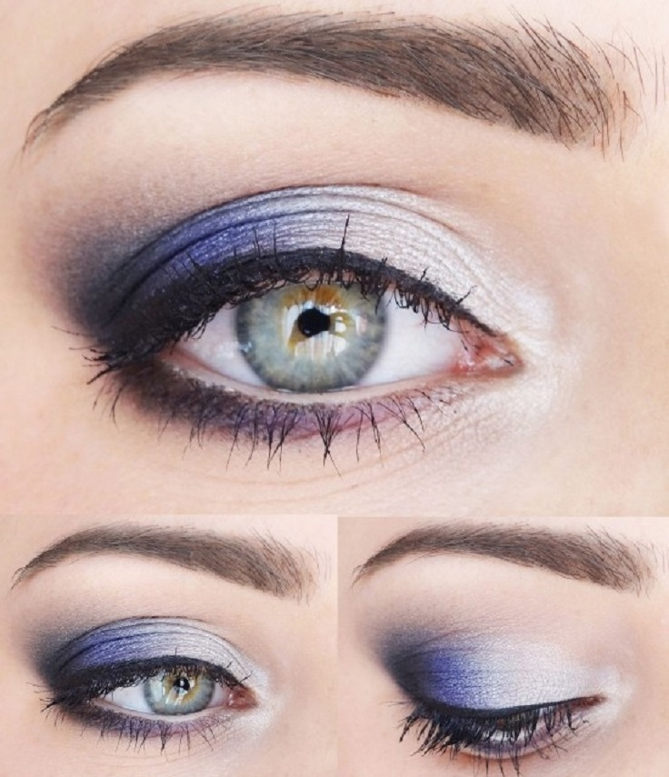 Top 10 Colors For Blue Eyes Makeup - Top Inspired
