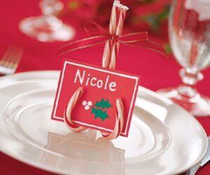 Top 10 Creative DIY Christmas Place Cards