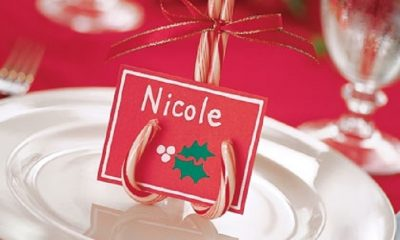 Top 10 Creative DIY Christmas Place Cards | Top Inspired