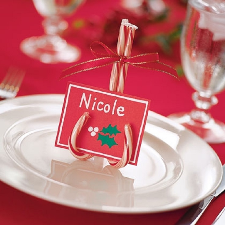 Top creative diy christmas place cards inspired