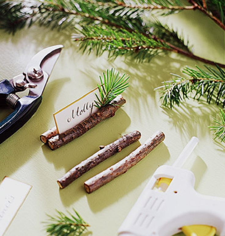 top 10 creative diy christmas place cards top inspired