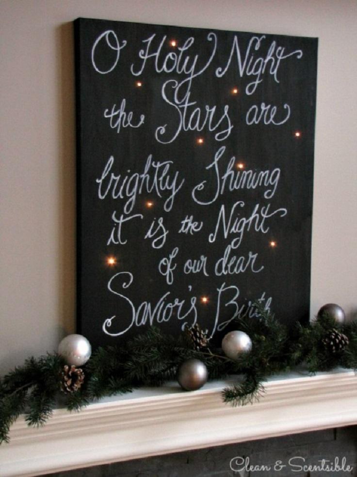 Top 10 Jolly Diy Christmas Canvas Ideas Top Inspired