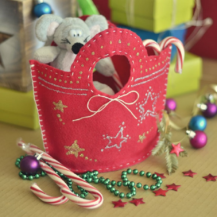 Diy christmas gift bags