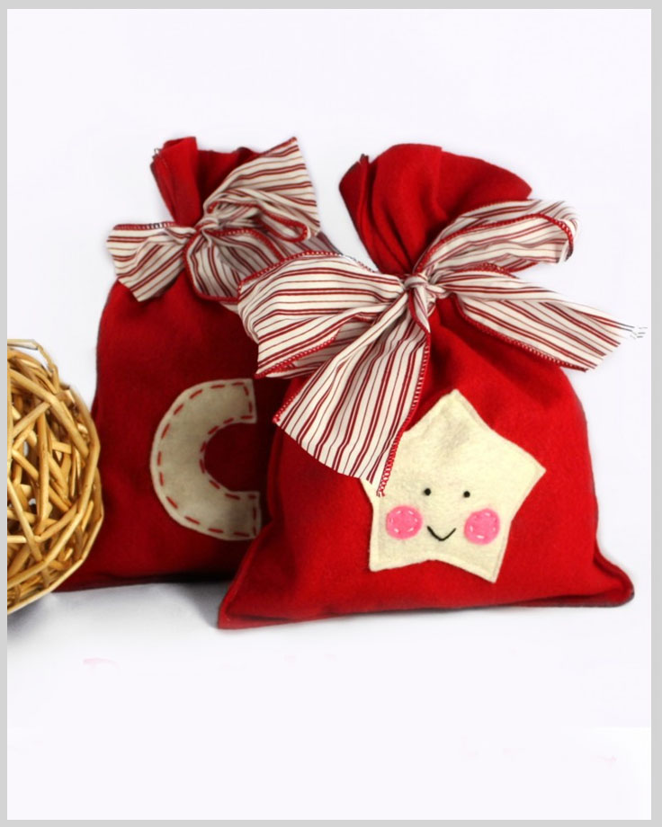 Top 10 DIY Christmas Gift Bags - Top Inspired