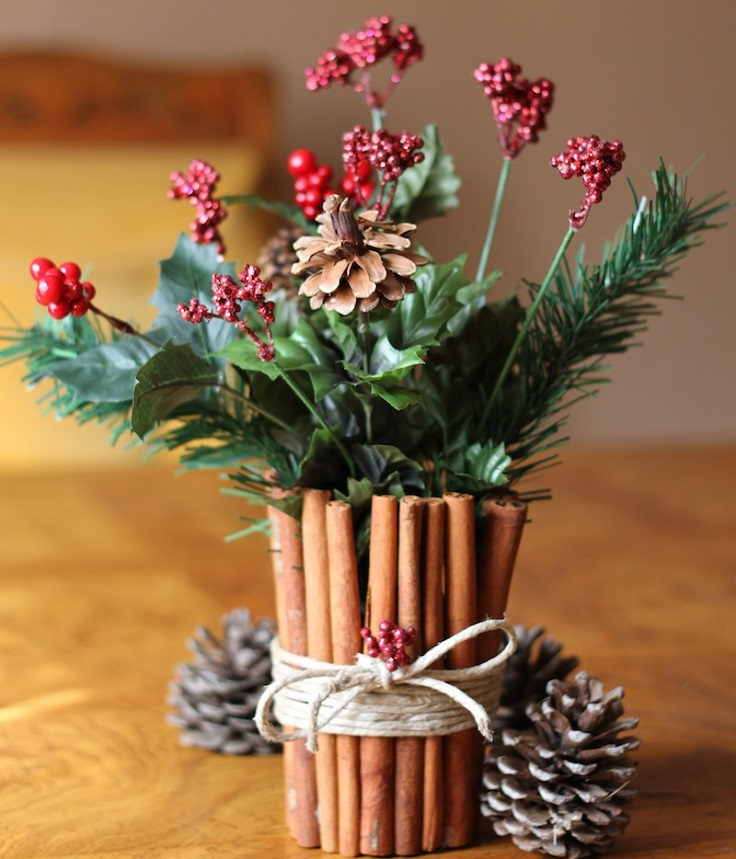 top  diy festive christmas centerpieces  top inspired, Beautiful flower