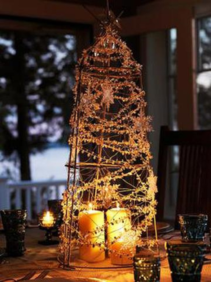 Top 10 DIY Festive Christmas Centerpieces