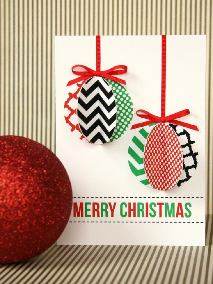 Top 10 Handmade Jolly Christmas Cards | Top Inspired