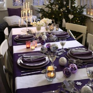 Top 10 Inspirational Ideas for Christmas Dinner Table | Top Inspired