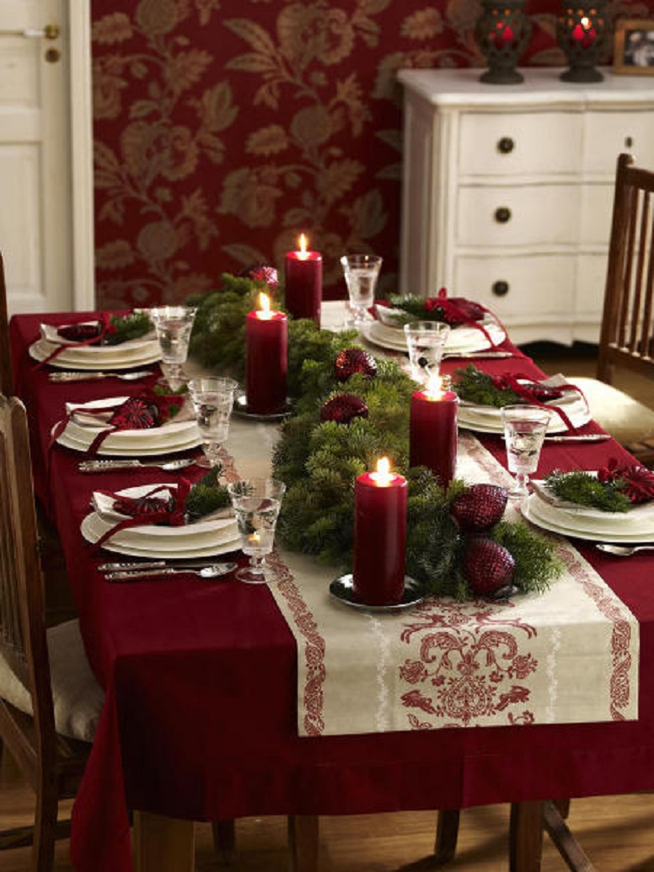 Top 10 Inspirational Ideas For Christmas Dinner Table Part 43