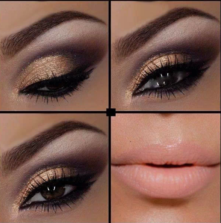eyes makeup ideas Brown