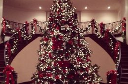 Top 10 Most Adorable Celebrity Christmas Trees | Top Inspired