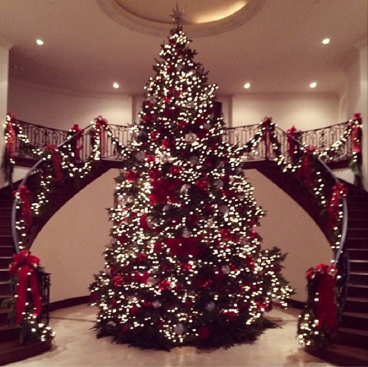 Top 10 Most Adorable Celebrity Christmas Trees - Top Inspired
