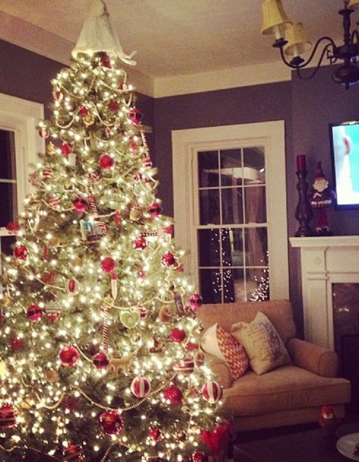 Top 10 most adorable celebrity christmas trees
