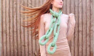 Top 10 Fun And Unusual DIY Scarfs (Free Kniting and Crocheting Patterns)   Top Inspired