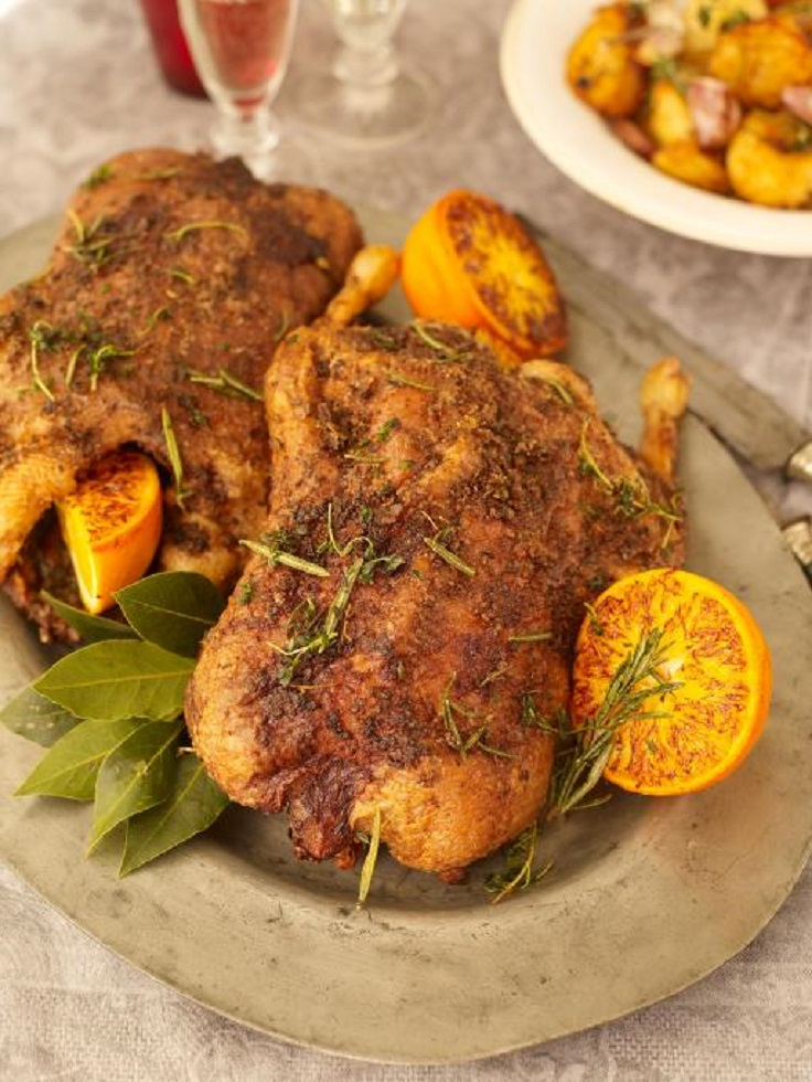 dinner christmas recipes duck amazing roast easy recipe oliver jamie gravy crispy potatoes port dinners delicious roasted food whole jamieoliver
