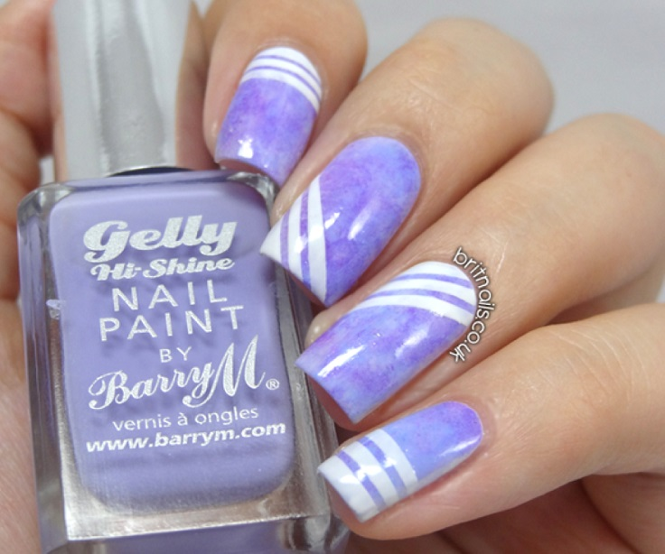 Top 10 striped nail designs top inspired top 10 striped nail designs prinsesfo Images