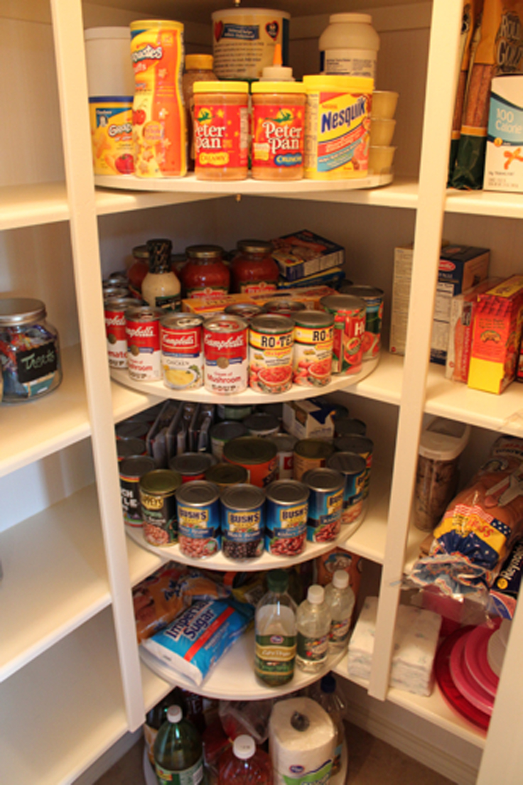 Top 10 tips for pantry organization and storage top inspired for Kitchen shelf ideas