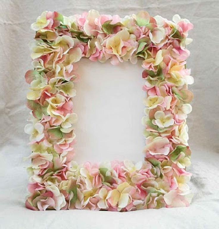 Top 10 Tutorials for Decorating Picture Frames - Top Inspired