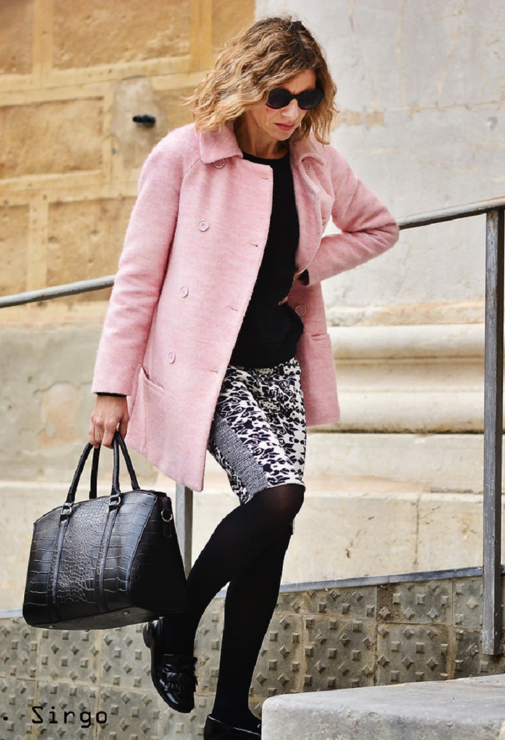 Top 10 Ways To Wear Baby Pink In Winter - Top Inspired