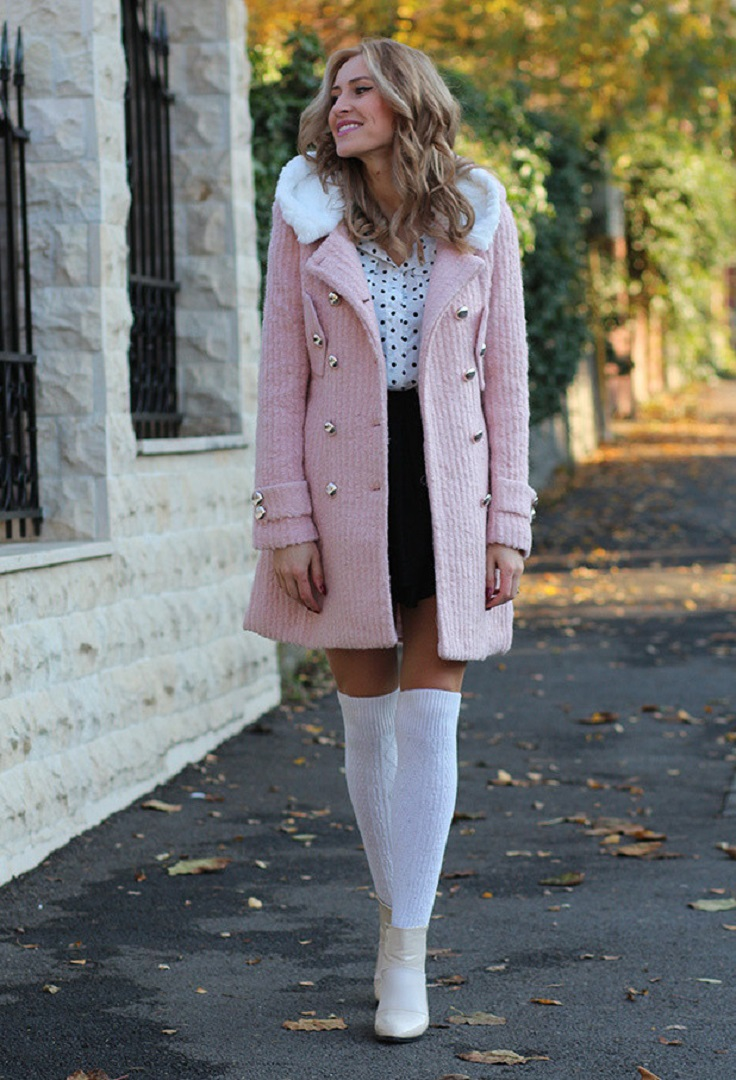 Top 10 Ways To Wear Baby Pink In Winter Top Inspired