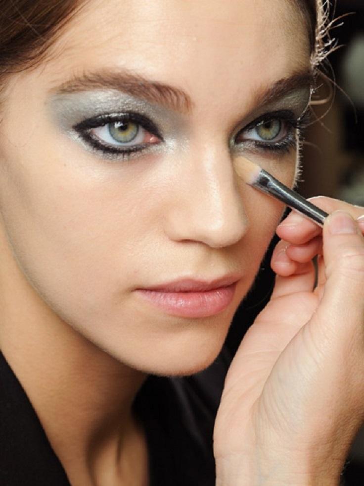 Top 10 Metallic Eye Makeup Ideas Top Inspired