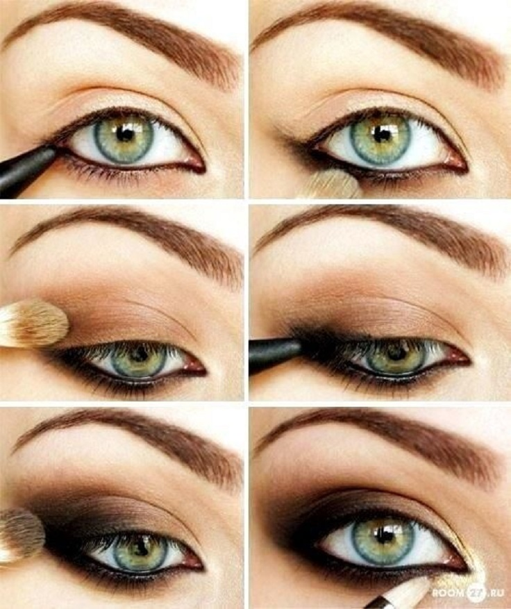 Brown-Smokey-Eyes