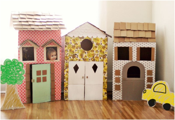 Cardboard-Playhouses