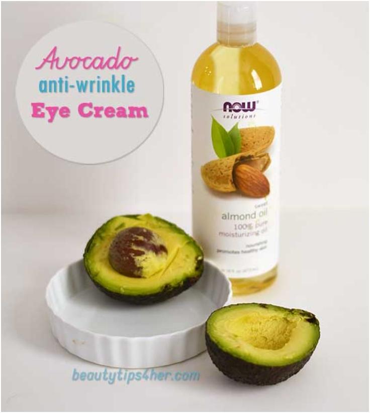 Creamy-Under-Eye-Wrinkles-Dark-Circle-Treatment-With-Avocado