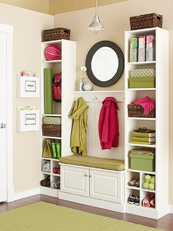 Mudroom Storage Solutions : Top best diy ideas for well organized mudroom