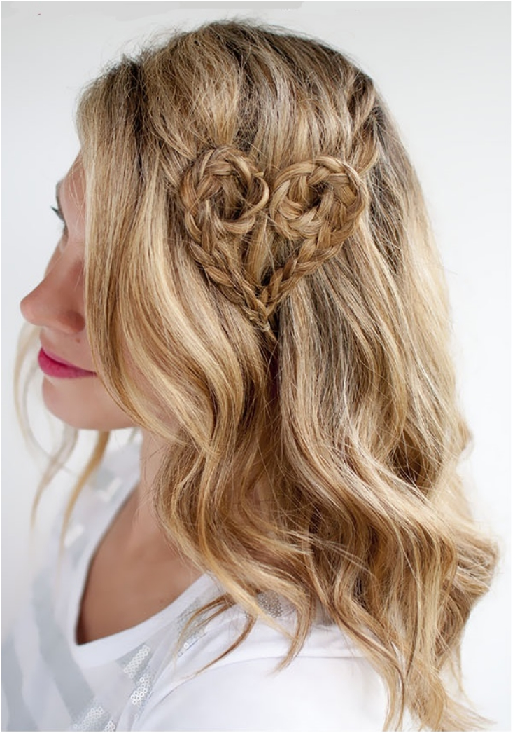 Top 10 Valentine Heart-Shaped Hairstyles - Top Inspired