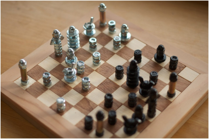 Top 10 Unusual DIY Chess Sets - Top Inspired