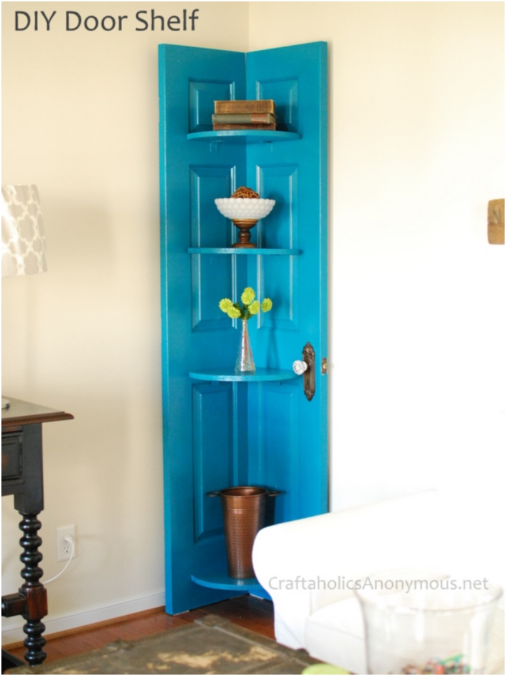 Top 10 Lovely DIY Repurposed Vintage Doors