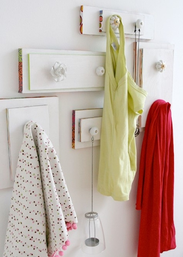 Dresser-drawers-upcycled-into-wall-hangers