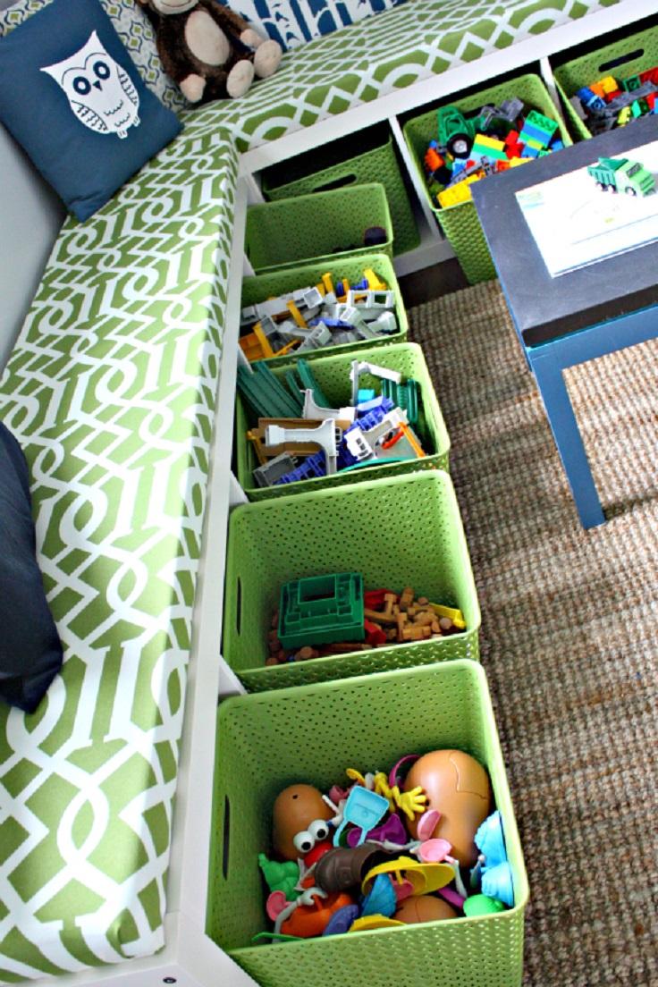 Top 10 best diy ways to organize kids 39 room top inspired - Diy kids room organization ...