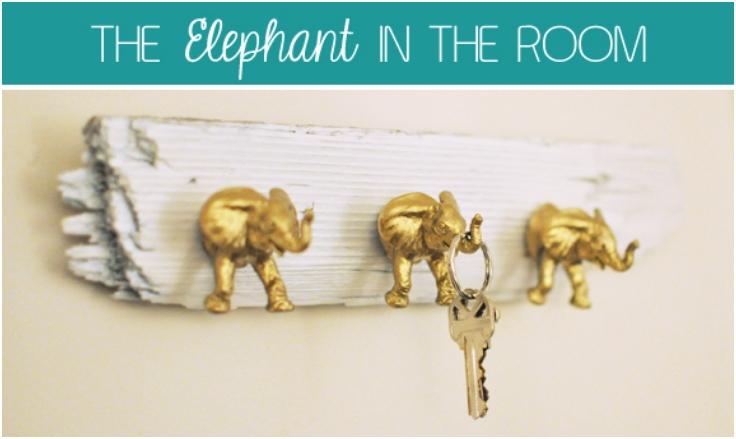 Elephant-Key-Hooks