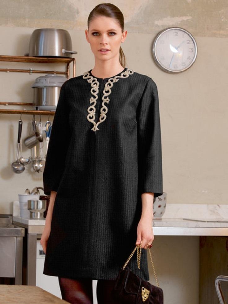 Embellished-Tunic-Dress