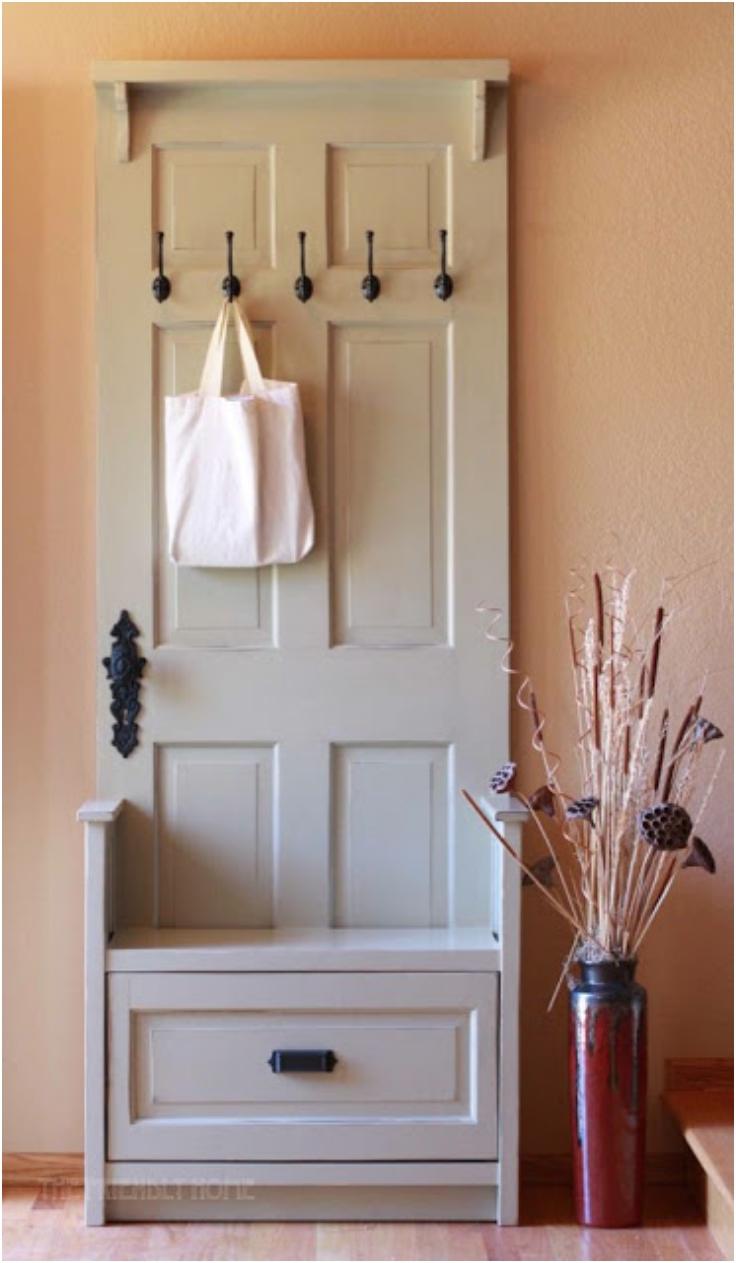 Top 10 Lovely DIY Repurposed Vintage Doors