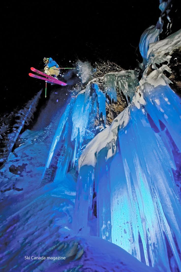 Extreme-Skiing