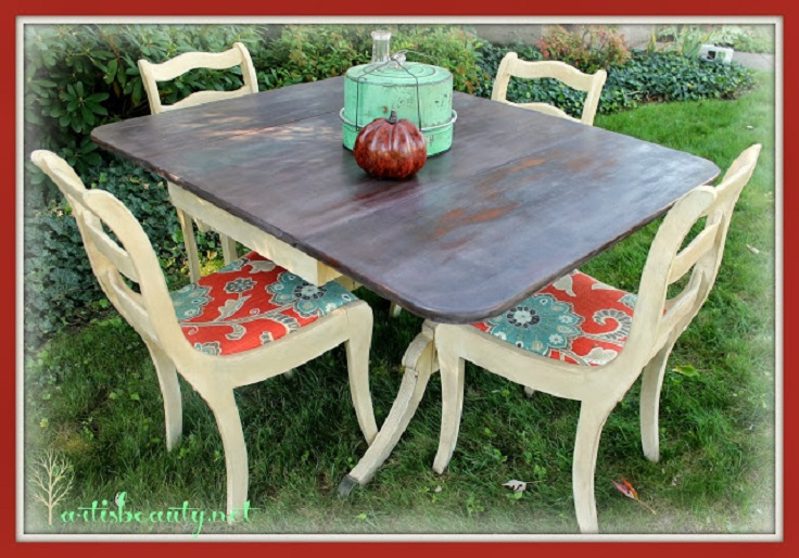 Fairy-tale-Rescued-Table-and-Chairs-Makeover