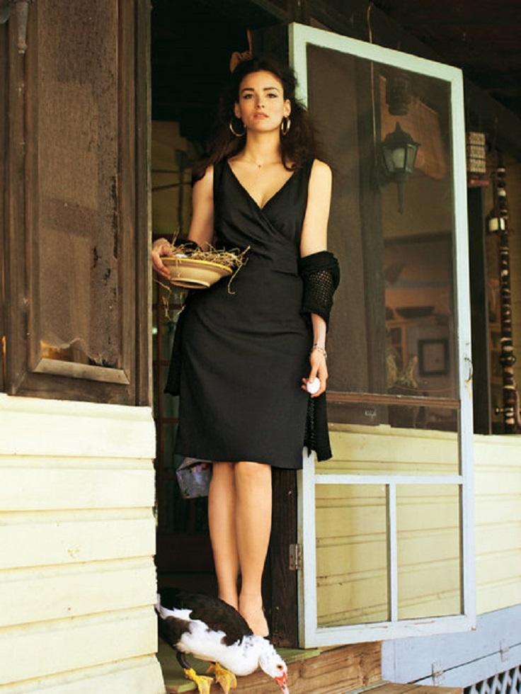 Faux-Wrap-Dress-Plus-Size