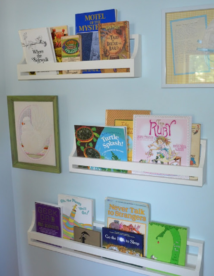 Top 10 DIY Kid's Book Storage Ideas - Top Inspired