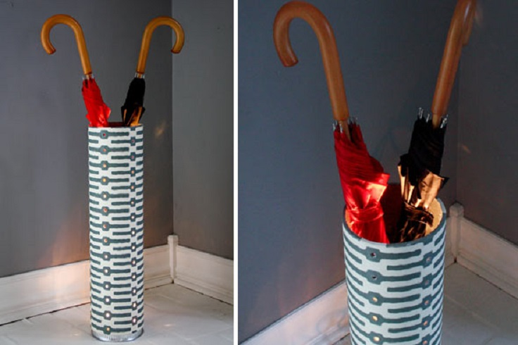 Top 10 Easy DIY Umbrella Stands