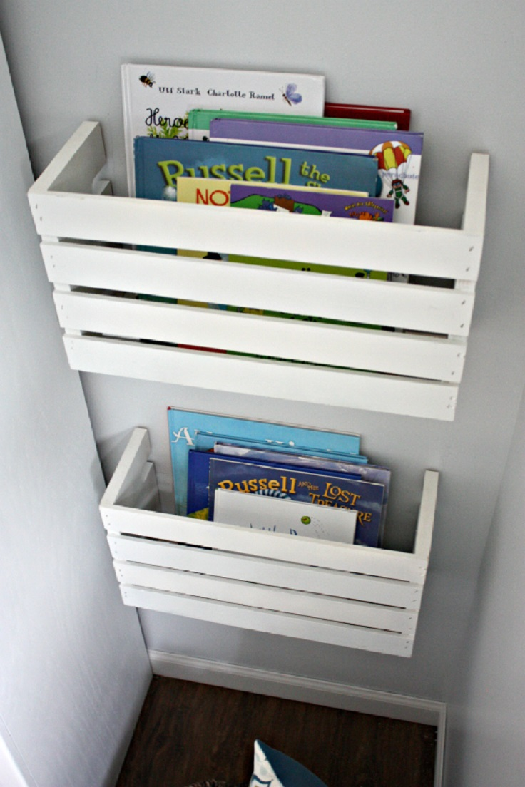 Great-DIY-Crate-Book-Storage