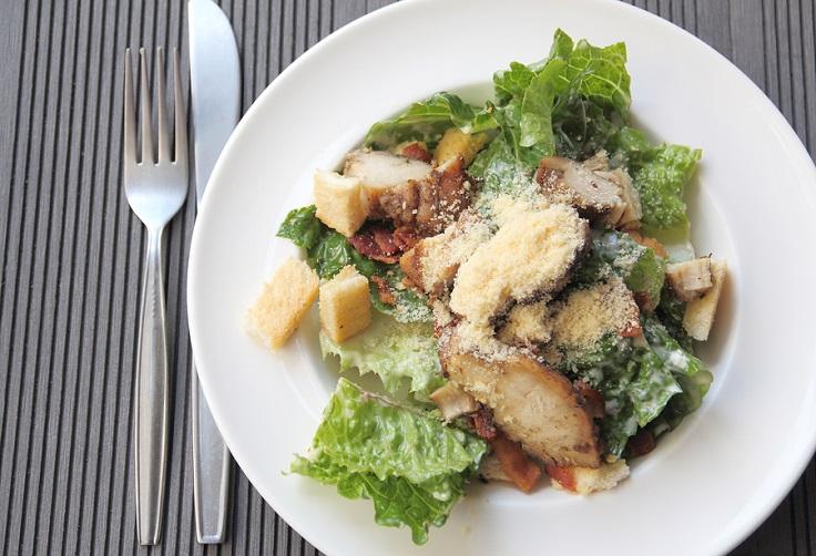 Grilled-Chicken-Ceasar-Salad