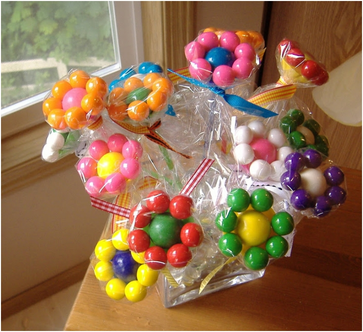 Gumball-Flower-Bouquets