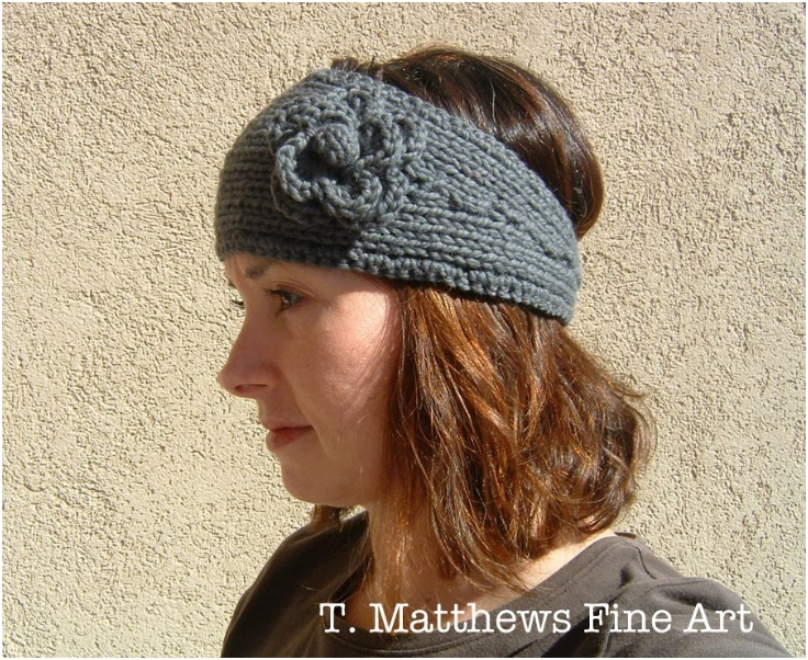 Free Crochet Pattern Headband Ear Warmer : Top 10 Warm DIY Headbands (Free Crochet and Knitting ...
