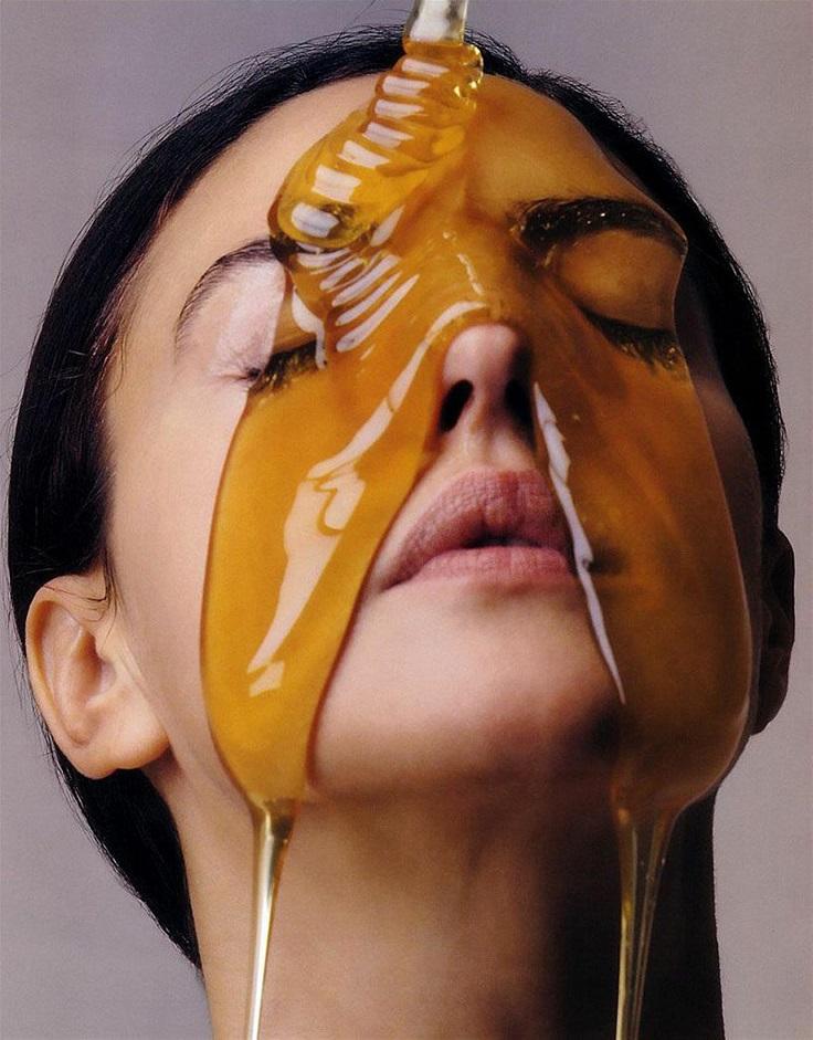 Honey-face-mask