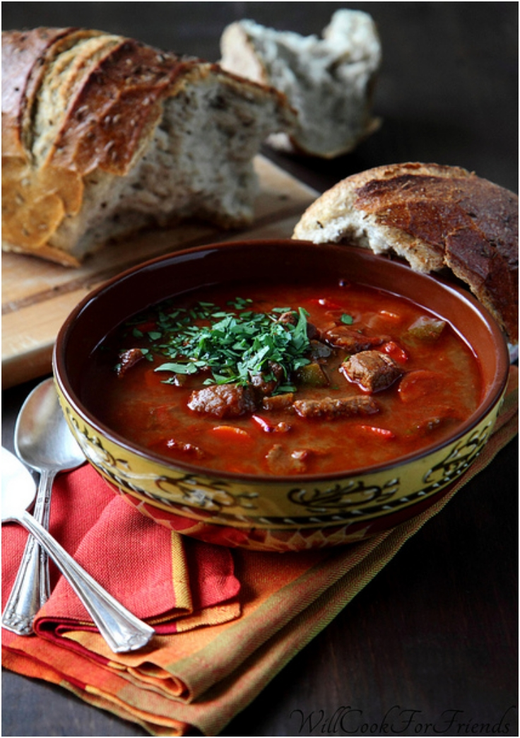 Hungarian Beef Goulash With Paprika Recipes — Dishmaps