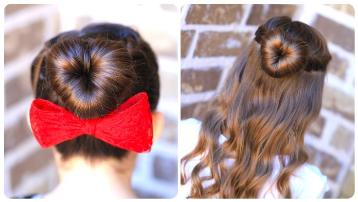 Top 10 Valentine Heart-Shaped Hairstyles